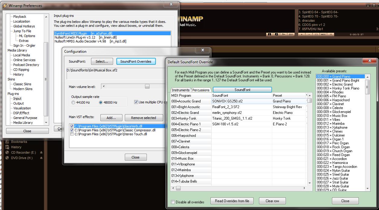 Winamp plugin