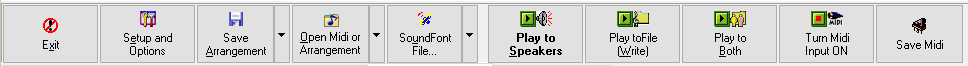 SynthFont[1] - the main toolbar buttons