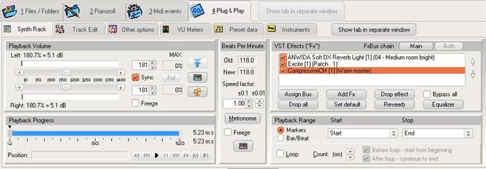 SynthFont screenshot